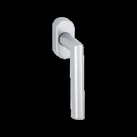 AMSTERDAM - 0400/US956 poignée de fenêtre HOPPE F1 aluminium argent